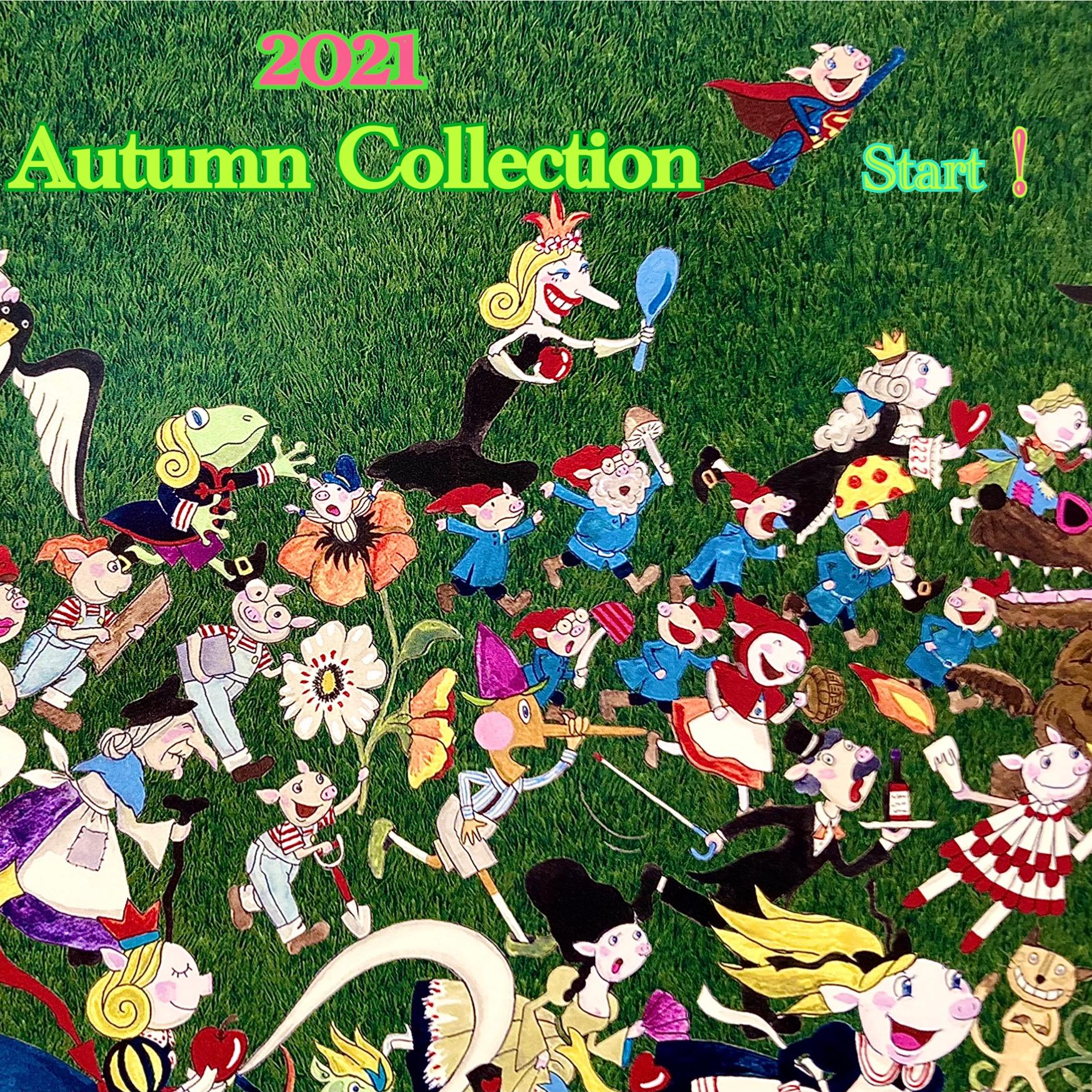 2021 Autumn Collection 7/31 Start !!
