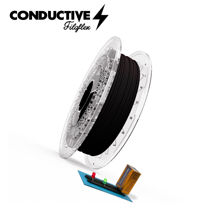 導電性フレキシブルTPUフィラメント「Conductive Filaflex」発売開始