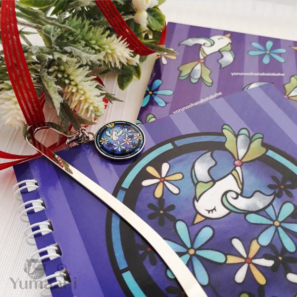 クリスマスのプレゼントにノートとブックマーカーのセットのご紹介