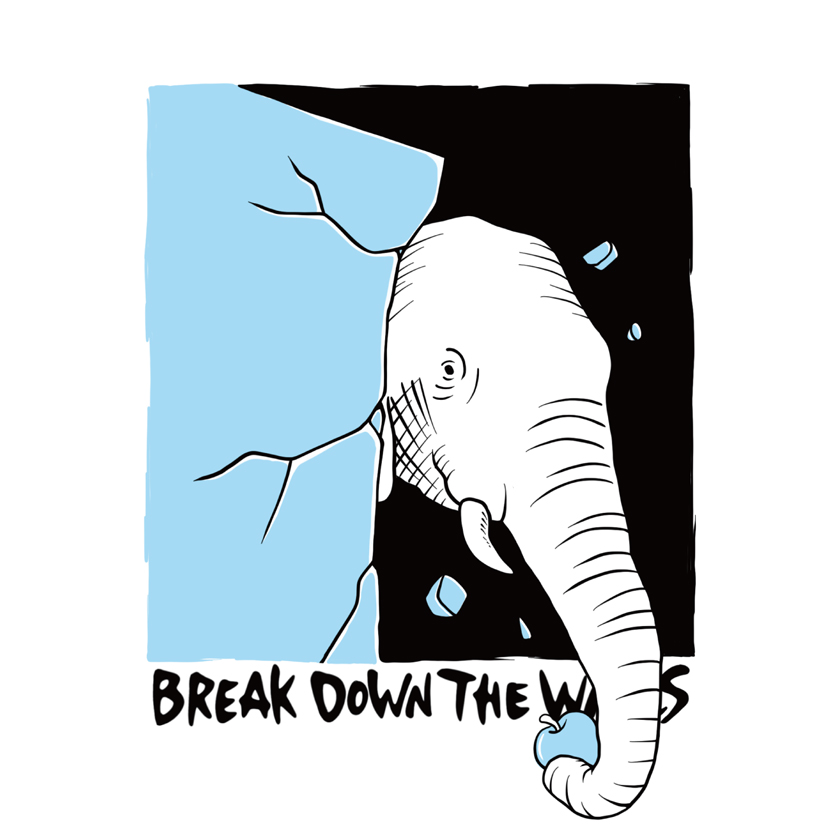"""Group Exhibition""""Break Down The Walls"""""""