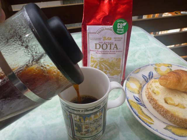 本日のコーヒー:カフェ・ドタ・フレッシュ