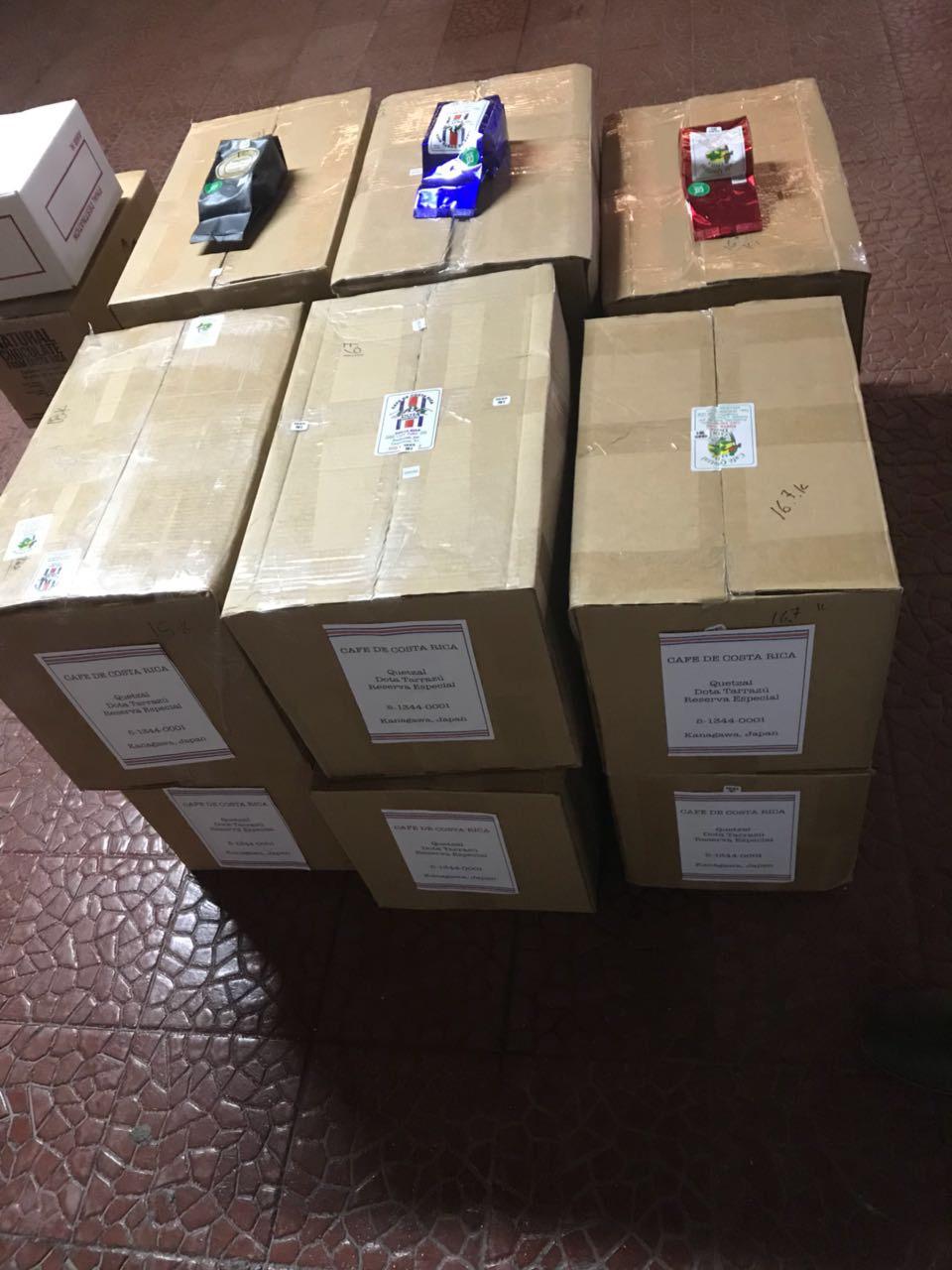 商品はコスタリカ倉庫にて待機中です。