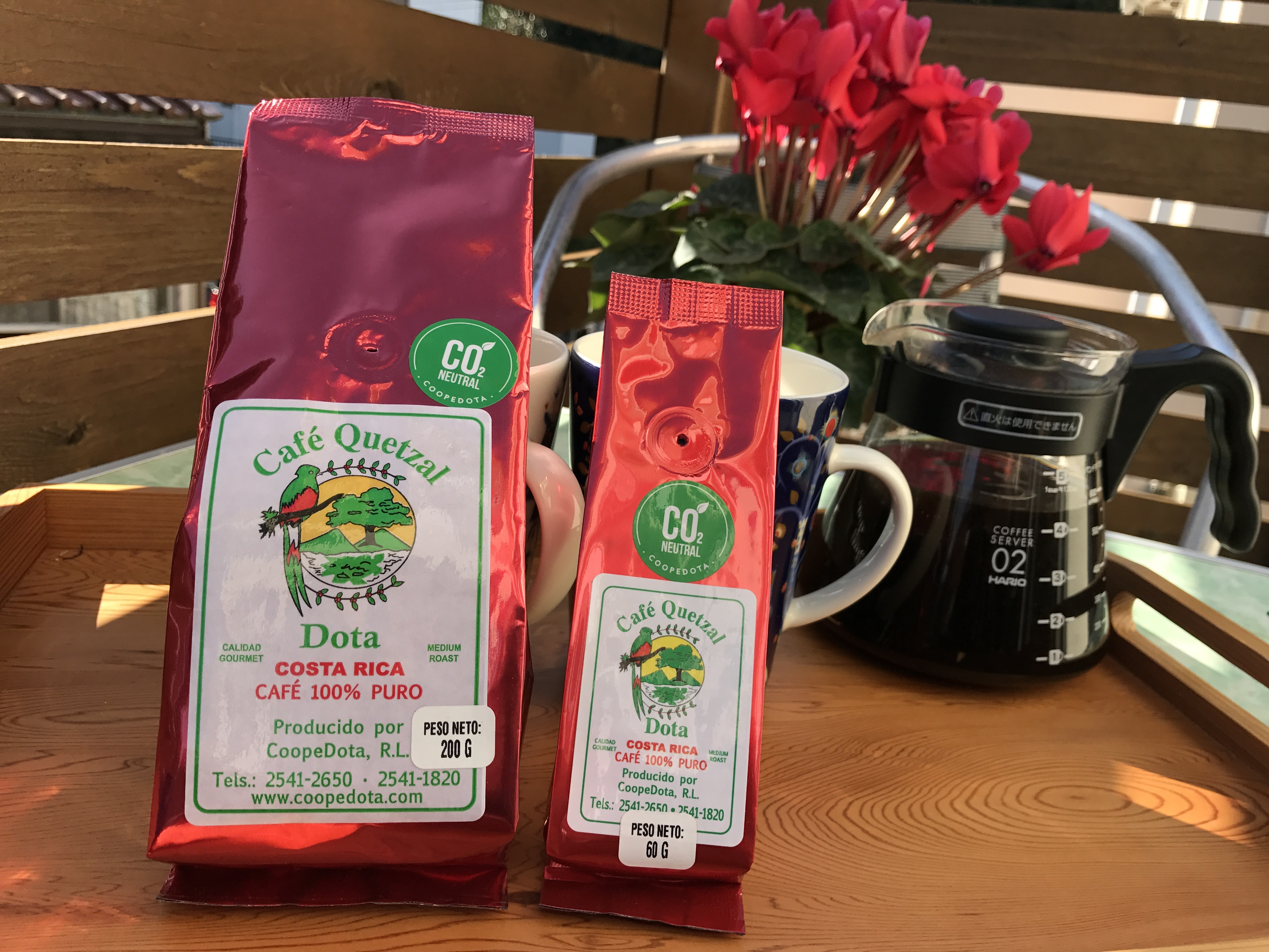 カフェ・ドタの販売を開始します!