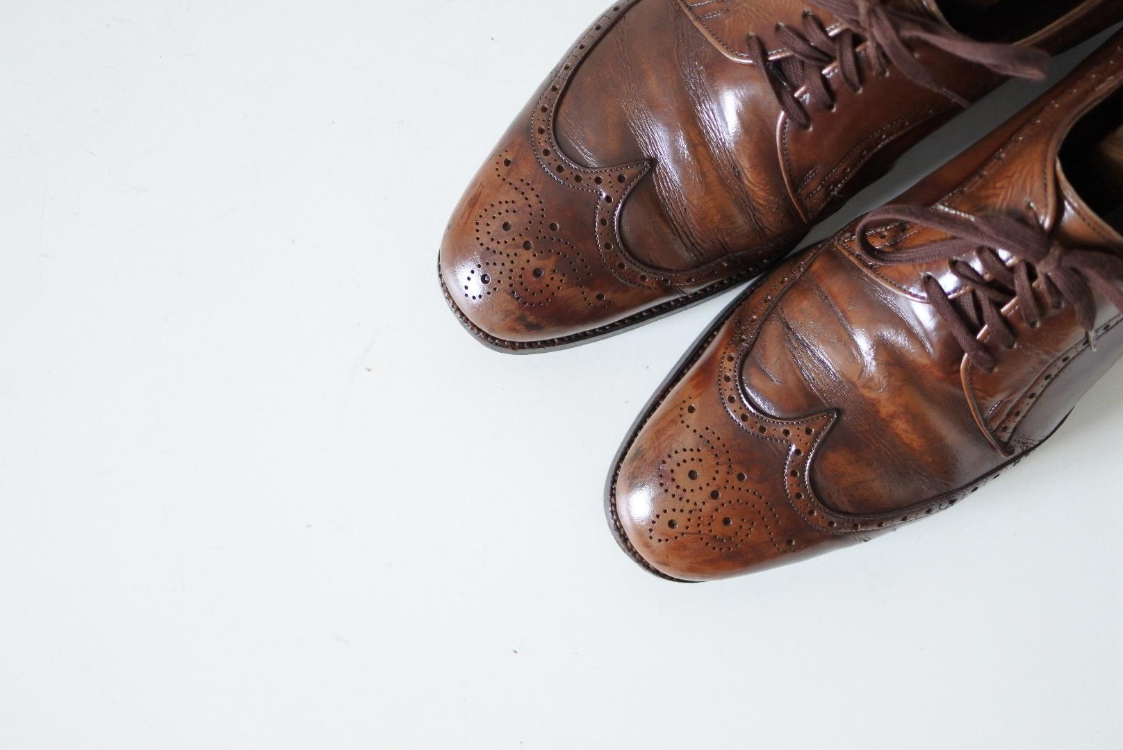 ビンテージの革靴を買うならこのブランド!チャーチが買収したAlan Mcafee(アランマカフィー)