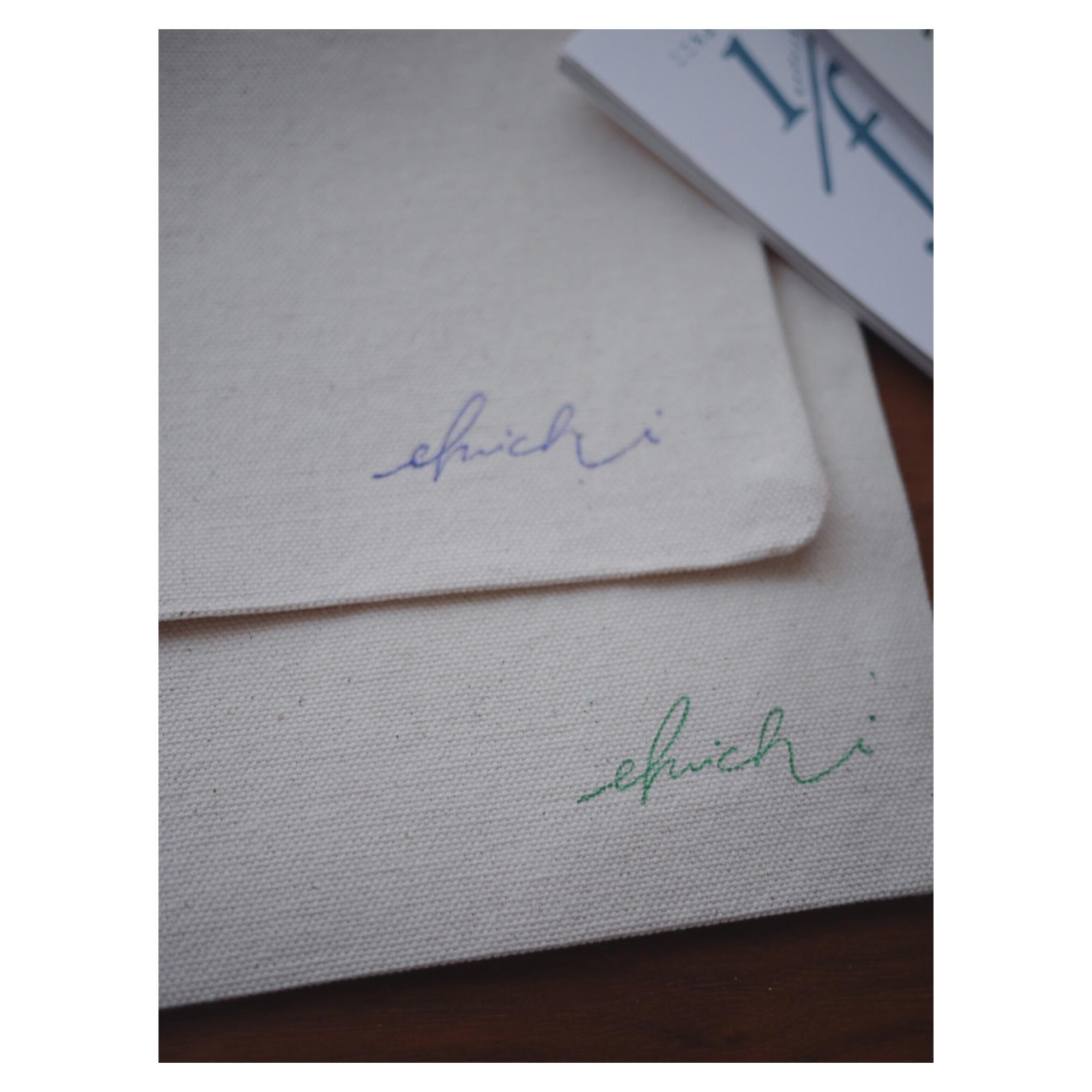 [ 5/16〜18まで ]エフイチサコッシュ先着プレゼント、スタート。お手紙同封もします。