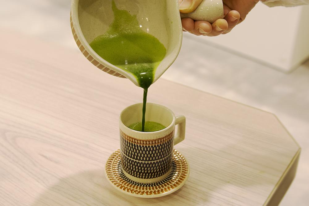 カップで楽しむ…お抹茶