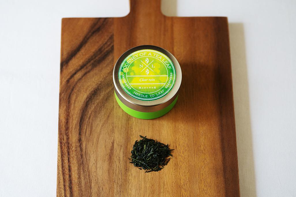 雨上がりの草原をイメージ…《旅する日本茶》雨上がりのお茶