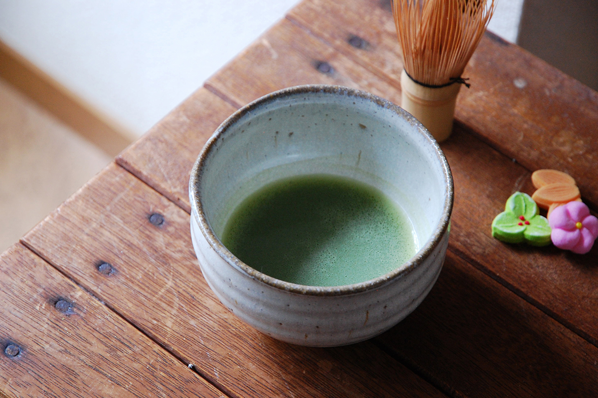 休日の朝、抹茶を楽しんでみませんか?