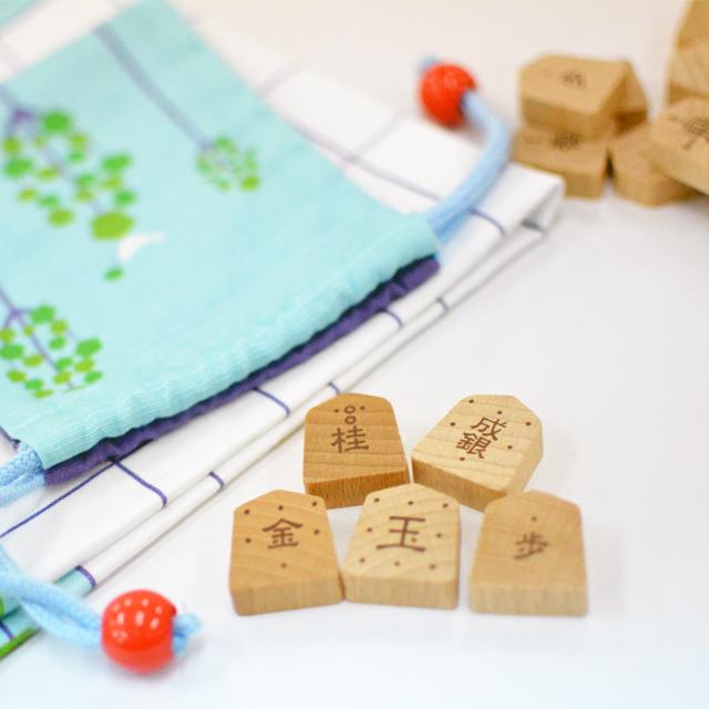 お子さんと将棋をやってみたい方必見【数量限定】将棋入門駒+布製将棋版セット♡