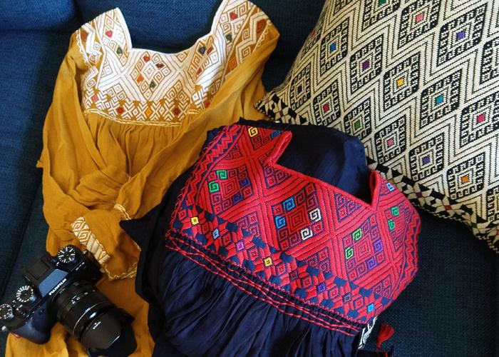 ララインサールの手織りもの / メキシコ先住民族の織物