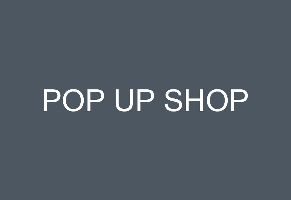 POP UP SHOPのご案内(10月6日更新)