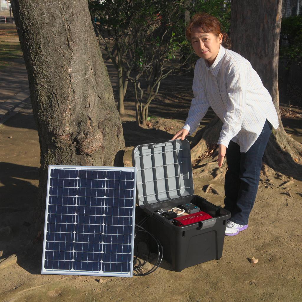 リチウムイオン充電池搭載の新型ソーラー発電機4機種をショップにアップしました。