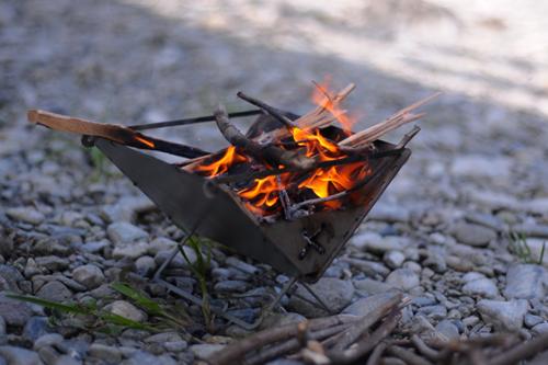 「焚き火バッグ」オーナーのレビュー動画
