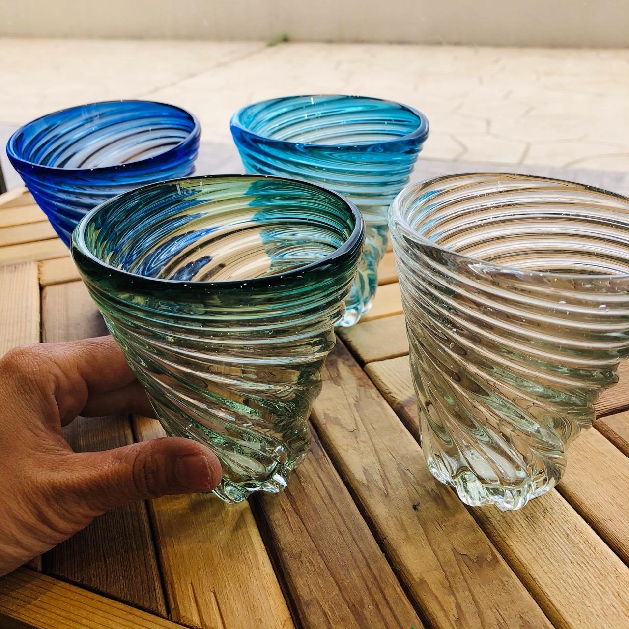 ガラス工房 清天 モールグラス
