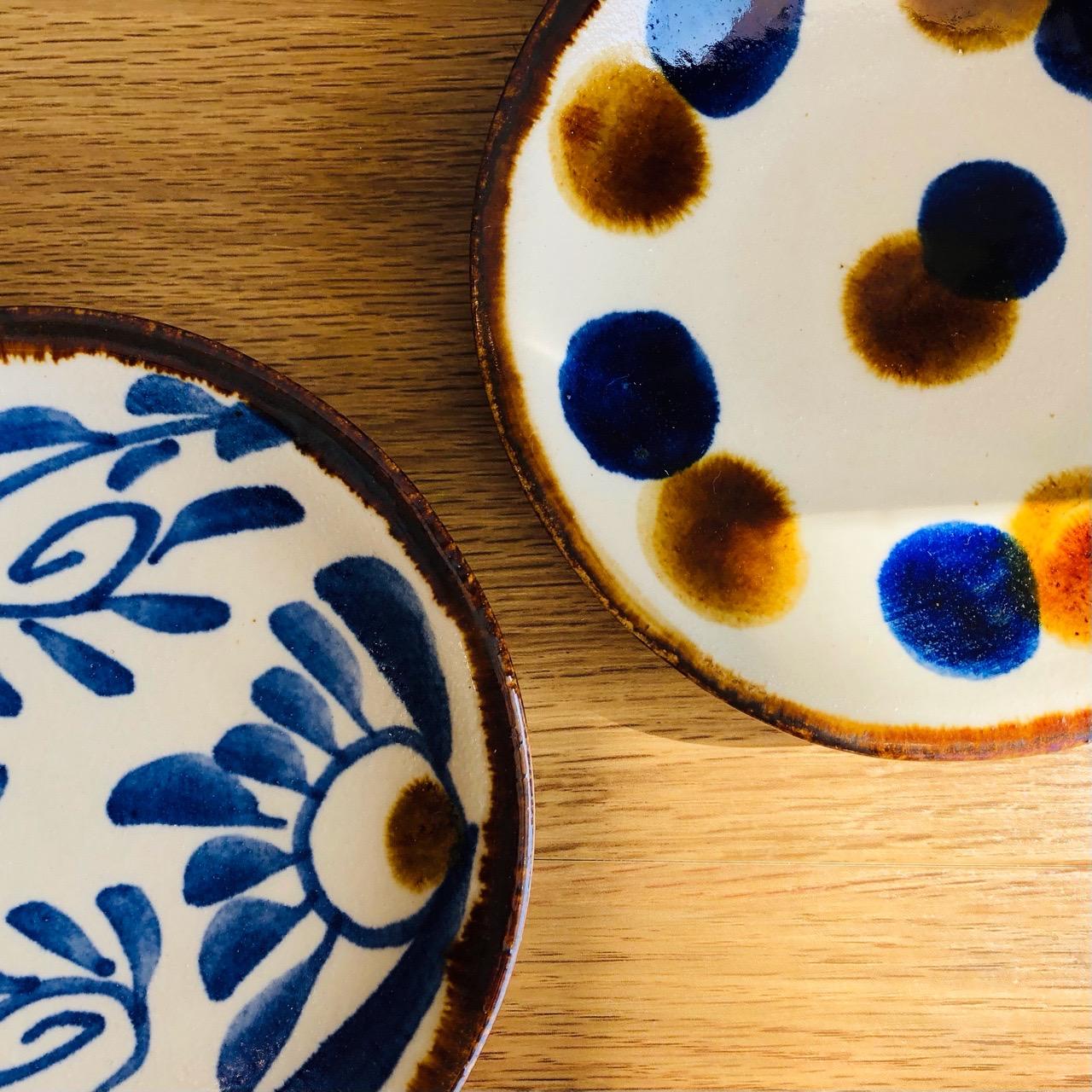 朝日陶器 丸小皿