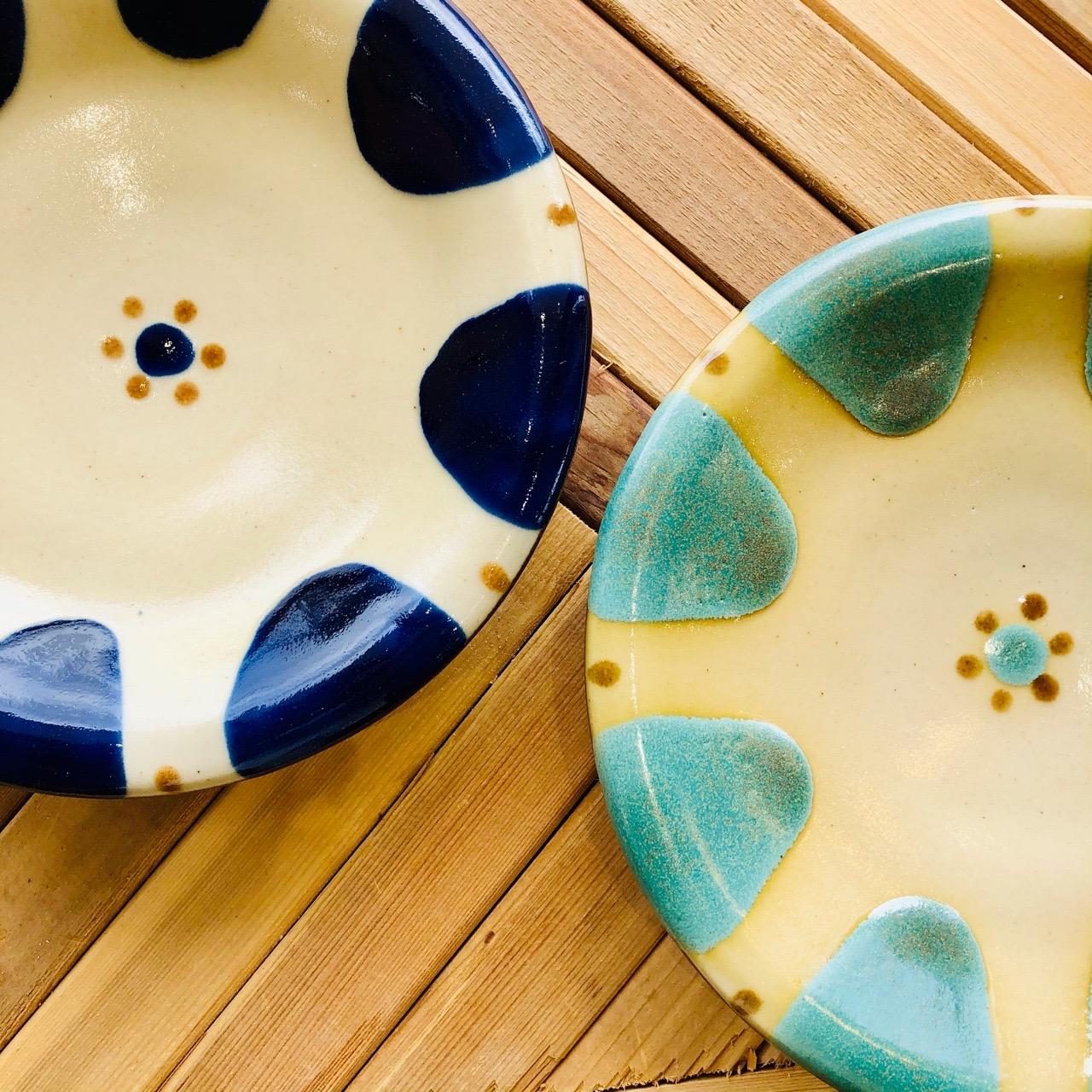 ノモ陶器製作所チチチャン皿♪