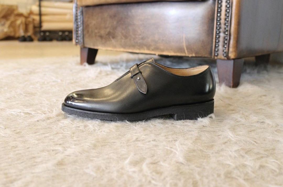 Sewn shoe-maker × Oboist order made shoes 完成