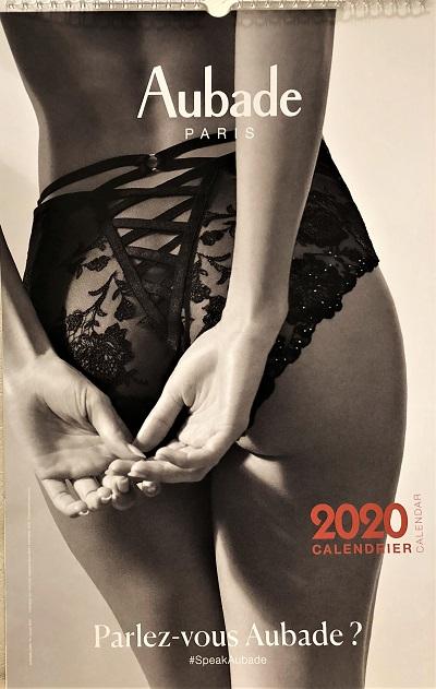 2020年オーバドゥカレンダー。