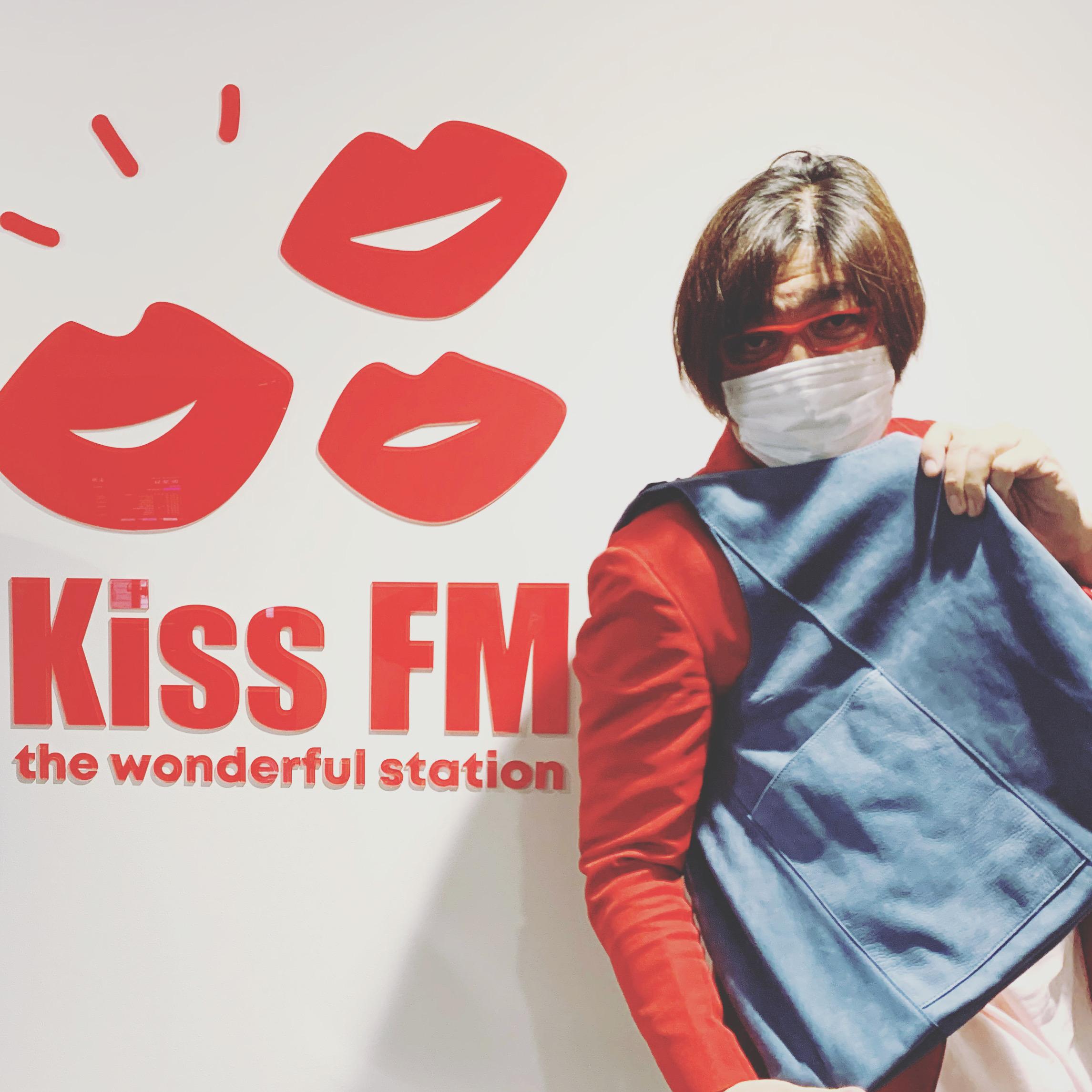 Kiss FMラジオ番組に生出演してきました♪