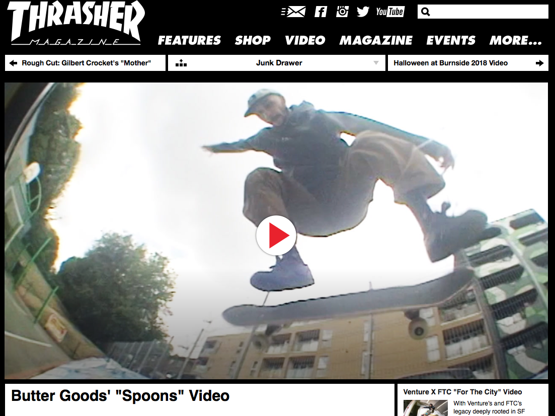 """Spoons Video by """"Butter Goods"""""""