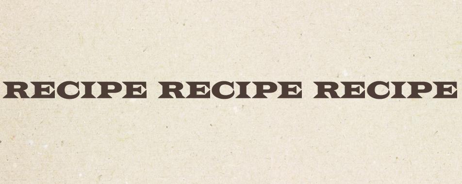 お役立ちレシピ
