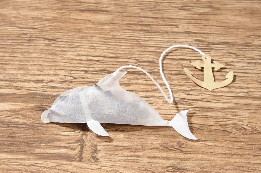 ティータイムにイルカが泳いでる!? 初夏におすすめなティーバッグ