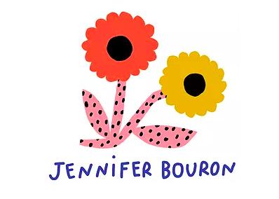 """フランスからやってきた""""Jennifer Bouron""""のart workを楽しんで!"""