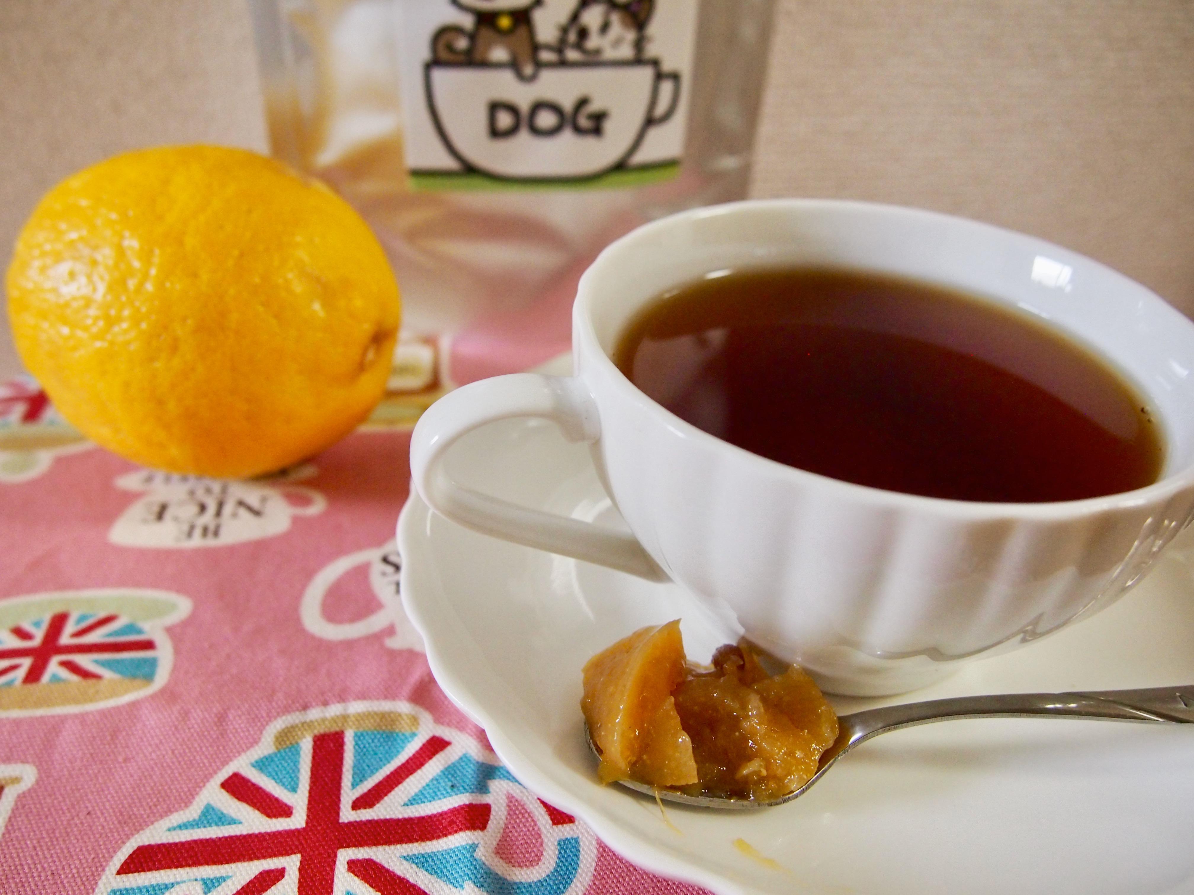 レモンマーマレードと紅茶で梅雨に立ち向かう