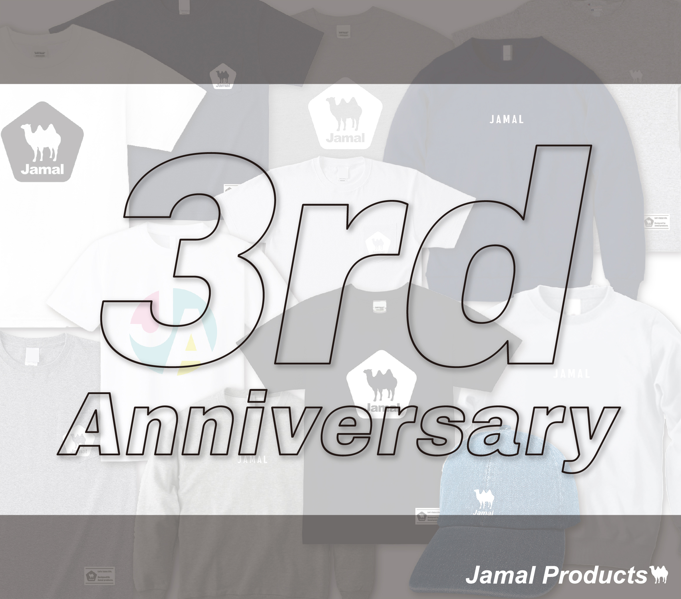 Jamal Products 3rd Anniversary!!