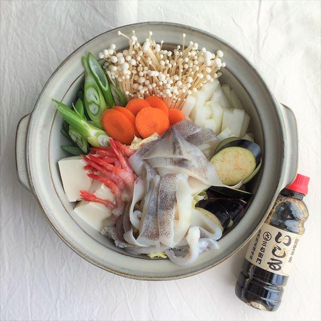 石川県奥能登の『いしる』を使った郷土料理。
