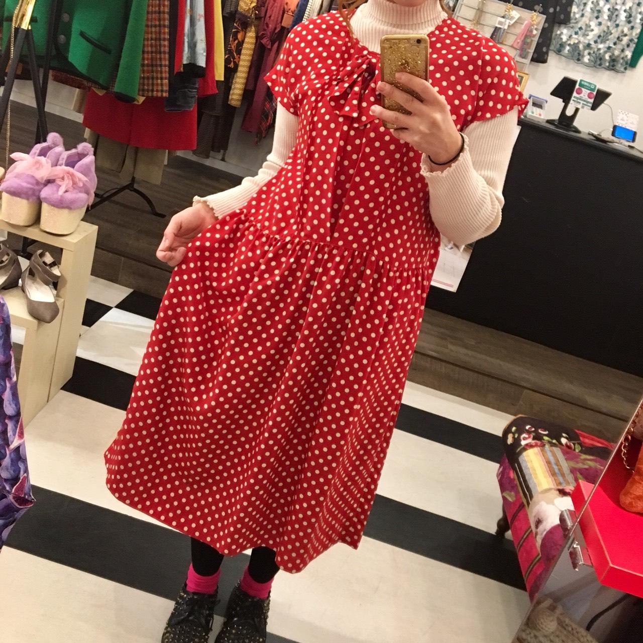 春ワンピース♪2月2日~販売開始◎ピンクハウスなどUSED古着たくさん入荷!