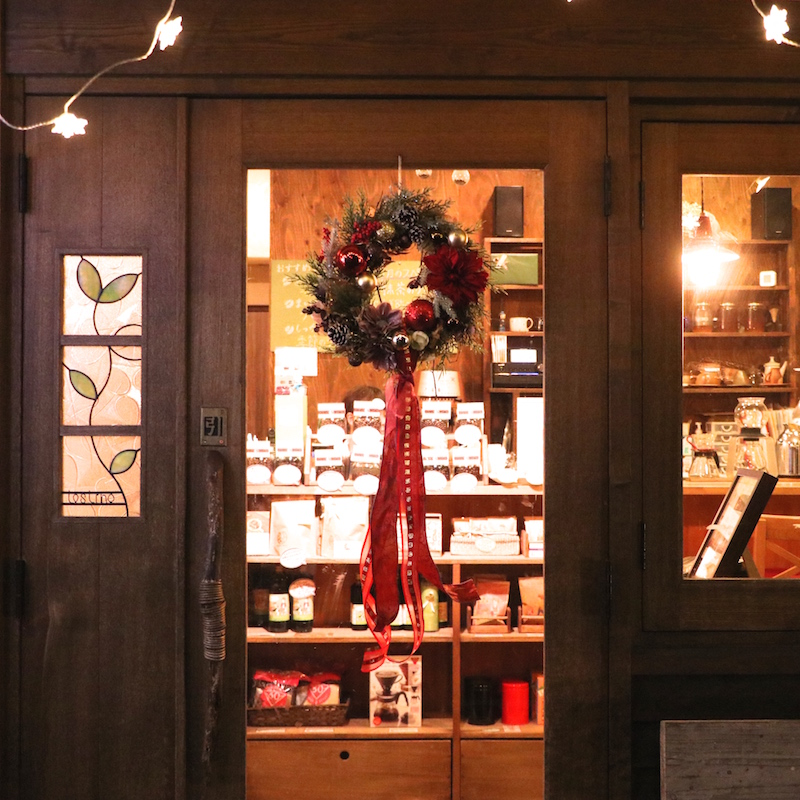 コーヒーショップのちょっと大人なクリスマス♡