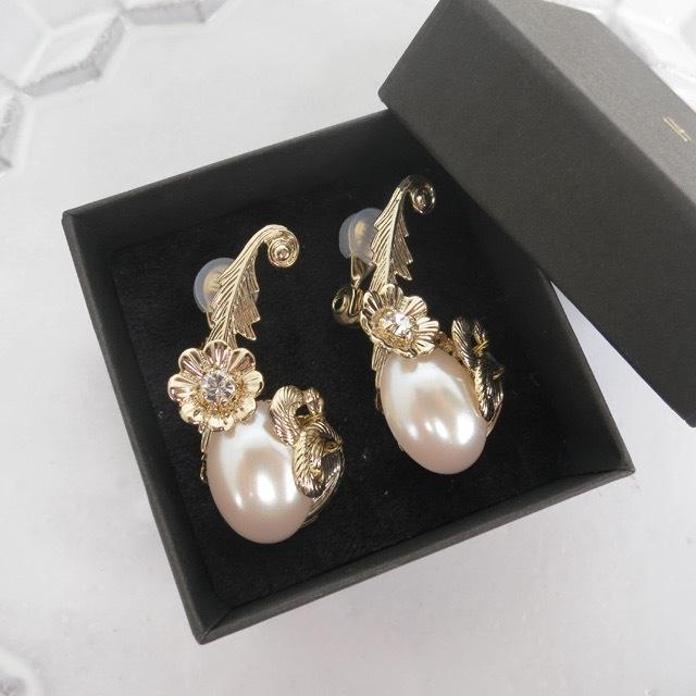 プレ花嫁さんへ♡耳からパールを一雫。優雅でロマンティックなイヤリングはいかが?