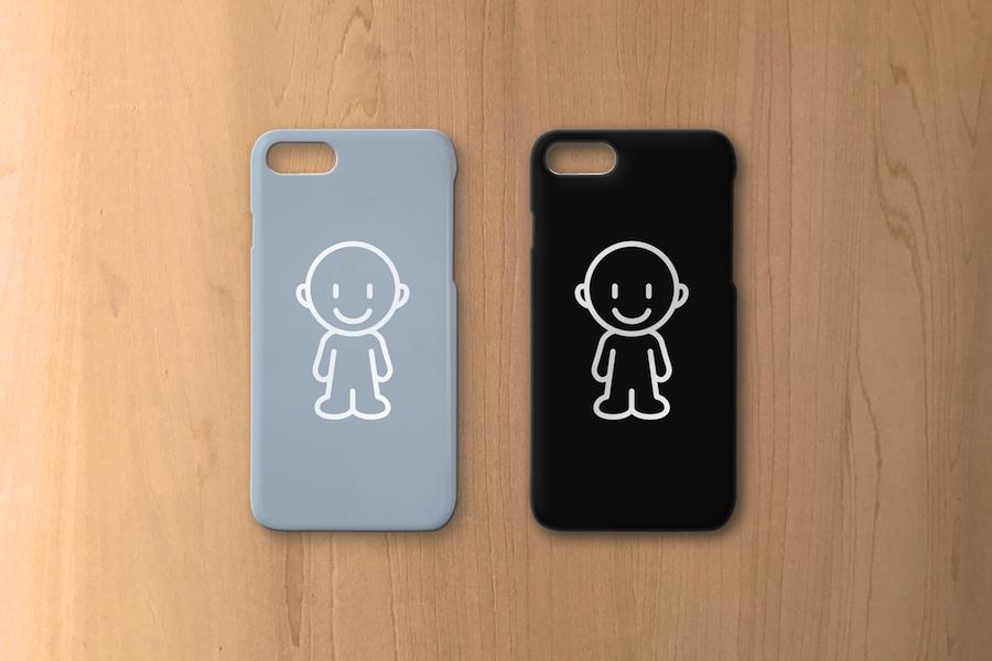 ミニマリストな大人必見。iPhone7case 新色モノクロライン/ブラックorグレー