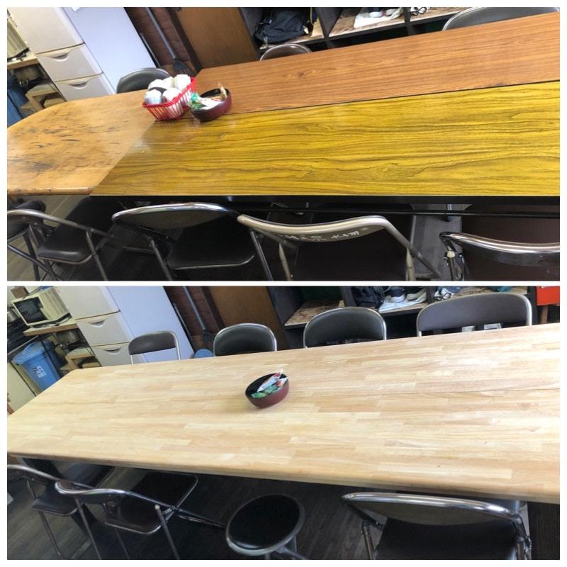 事務所のテーブル3m