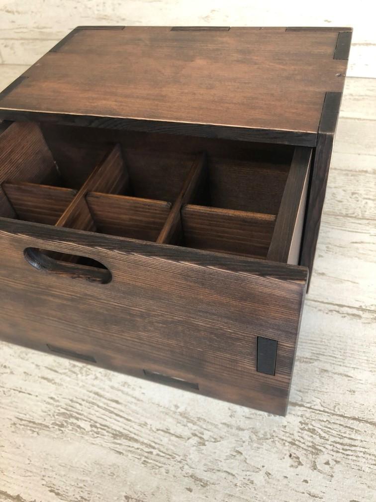 木箱完成~3段木箱へ