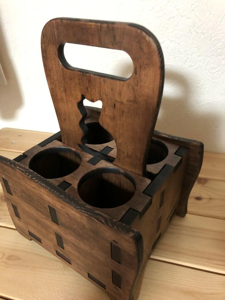 木製エコバッグ