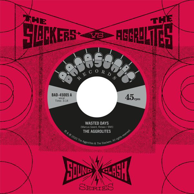 「THE AGGROLITES vs THE SLACKERS」7インチ限定50枚入荷&予約開始!