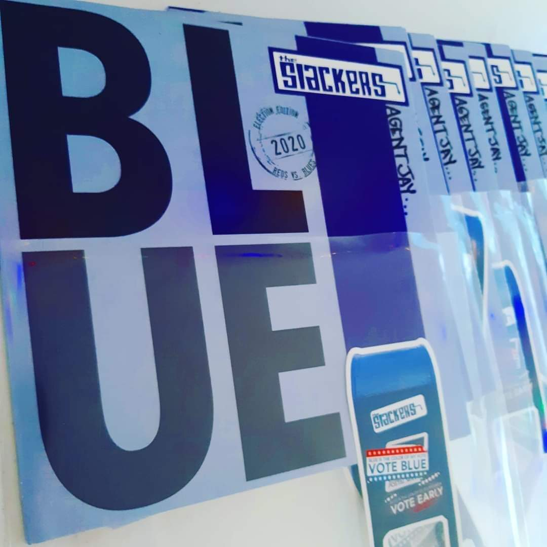 THE SLACKERS 最新シングル「BLUE」本日発売!