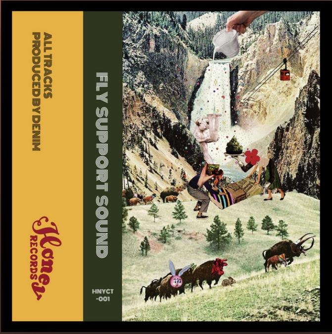 """本日発売‼︎""""FLY SUPPORT SOUND/DENIM""""(cassette/digital)"""