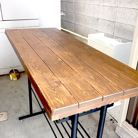 【STORY】カウンターテーブルリメイク☆実店舗準備中☆Makeover the table!