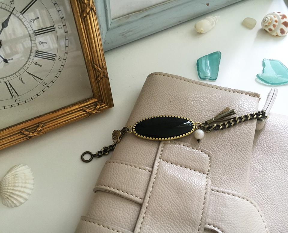 New Items Updated!-Black bracelet- (English Issue)