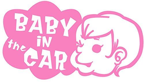 師走の運転にご注意を!赤ちゃんを護りましょう! Baby in the Car ステッカー
