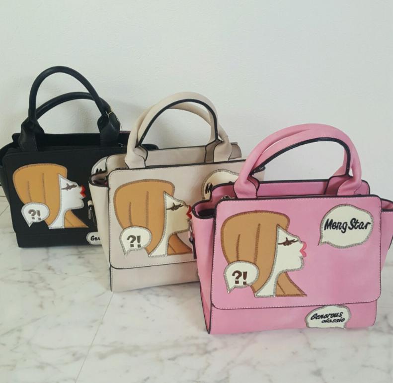 フェミニン好きさん必見のPOPで可愛いガールデザインバッグ♡