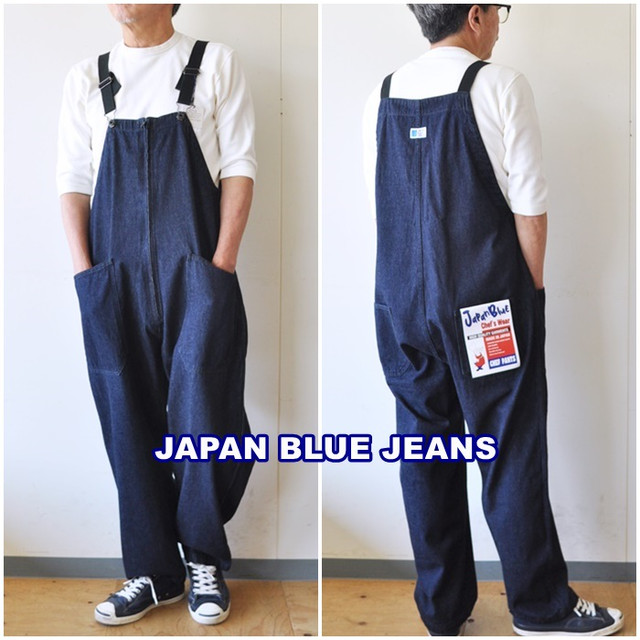 JAPANBLUEJEANS  ジャパンブルージーンズ オーバーオール 851151   シェフ