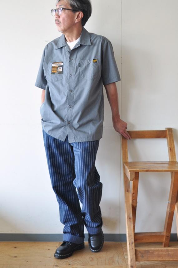 7月18日 今日のコーディネート 古き良きアメリカの作業員をイメージしたコーデ