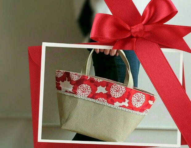 ホワイトデーに贈ろう♪デイリーに使えるキュートなトートバッグです!