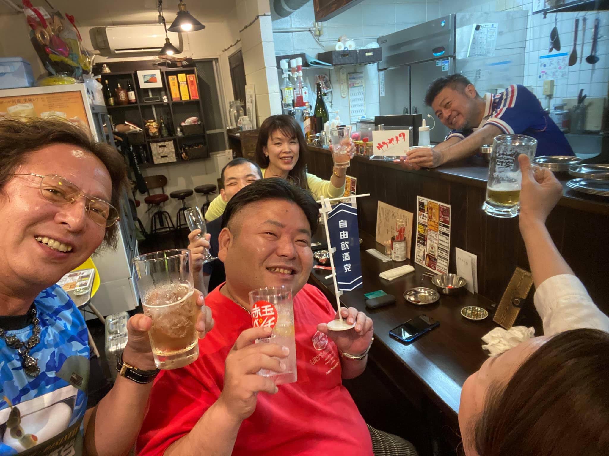 自由飲酒党 沖縄 那覇 奥武山公園