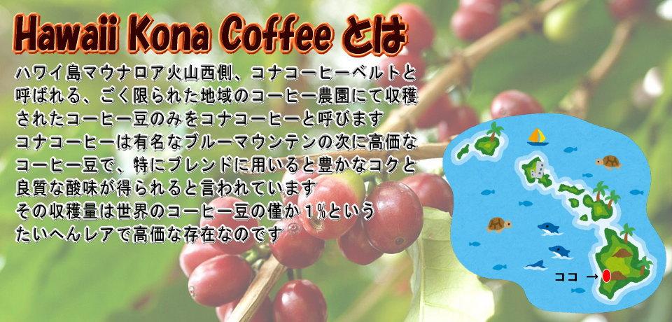 ハワイ・フレーバーコナコーヒー、その魅力をご紹介いたします