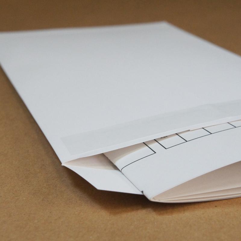 日本初!一枚なのに透けない究極の白封筒「極白封筒」シリーズ